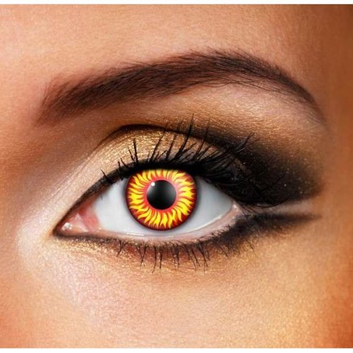 Wolf Eye Contact Lenses (Pairs) - Halloween Contact Lenses