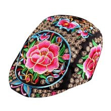 Chinese Style Sun Hats Hip Hop Hats Embroidered Hat Sport Cap Leisure Cap