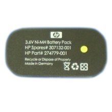 Hewlett Packard Enterprise 307132-001 Nickel-Metal Hydride (NiMH) 3.6V non-rechargeable battery