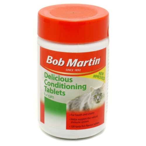 Bob Martin Cat Delicious Conditioning 100 Tablets