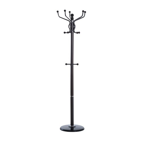 Homcom 14 Hook Coat Rack | Hallway Coat & Umbrella Holder