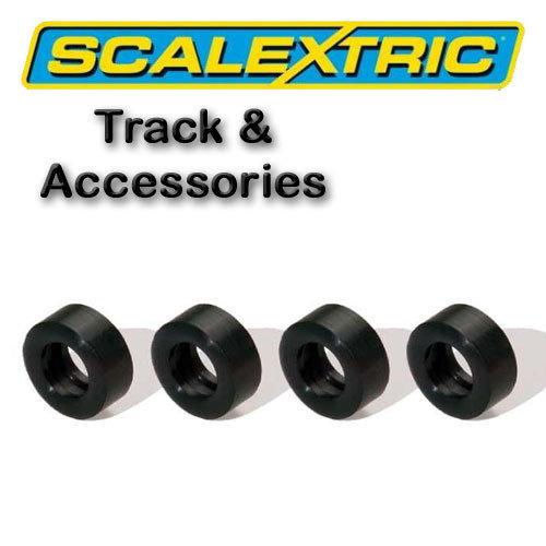 Scalextric Accessories -Classic Pack of 4 Silicon Tyres