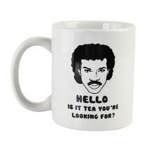 Lionel Richtea Mug | 'Hello Is It Tea You're Looking For' Ceramic Mug