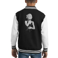 Madonna Whos That Girl World Tour Wembley 1987 Kid's Varsity Jacket