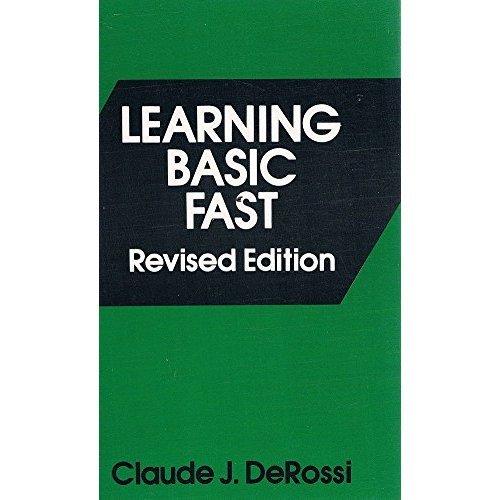 Learning BASIC Fast