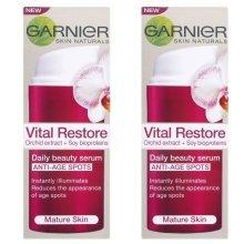 Double Pack Skin Naturals by Garnier Vital Restore Serum (2 x 30ml) Mature Skin