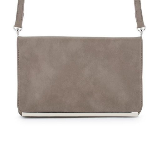 d4be38966b J Goodin TW-0057-TAUPE Martha Taupe Faux Leather Purse Clutch with Silver  Hardware on OnBuy