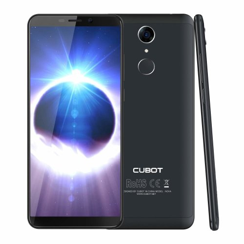 "CUBOT Nova (2018) Dual 4G Android 8.1 Smartphone Unlocked, 5.5"" inch (18: 9) Touch Screen Sim Free Mobile Phone,3GB RAM+16GB ROM, Dual 4G LTE FDD..."
