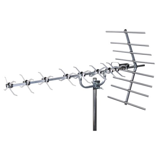 Digital TV Aerial, SLx 27884D4 4G Filtered Loft & Outdoor 48 Element Aerial for Digital TV High Gain Wideband Freeview HD