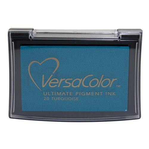 Tsukineko VC020 Versacolor Pigment Ink Pad - Turquoise