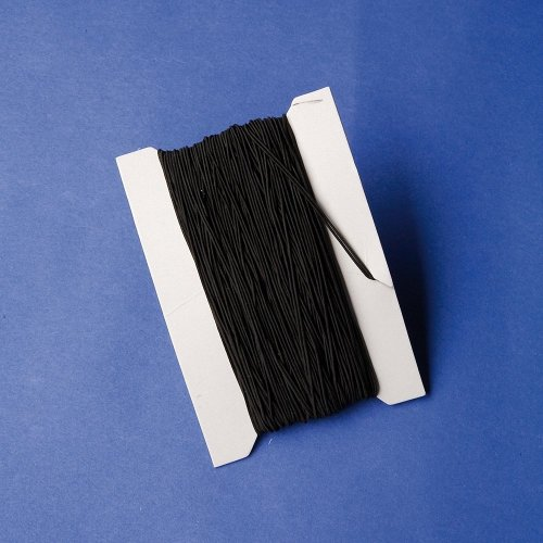 Pbx2460006 - Playbox - Elastic String (black) - 50 M, Ï 1 Mm
