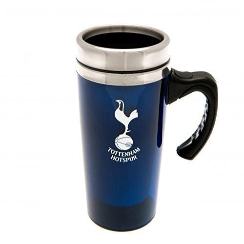 Tottenham Hotspur FC Official Football Gift Aluminium Travel Mug - A Great Christmas / Birthday Gift Idea For Men And Boys