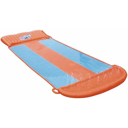 Bestway H2O Go! Triple Slider - Orange & Blue | Inflatable Water Slide