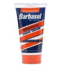 Barbasol Moisturizing Therapeutic Shave Cream for Sensitive Skin - 4.4 Oz, 3 pack