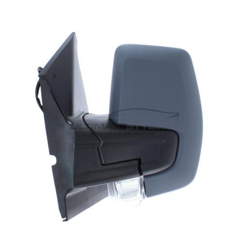 Ford Transit Custom Van 2012-> Power Folding Wing Mirror Passenger Side Primed