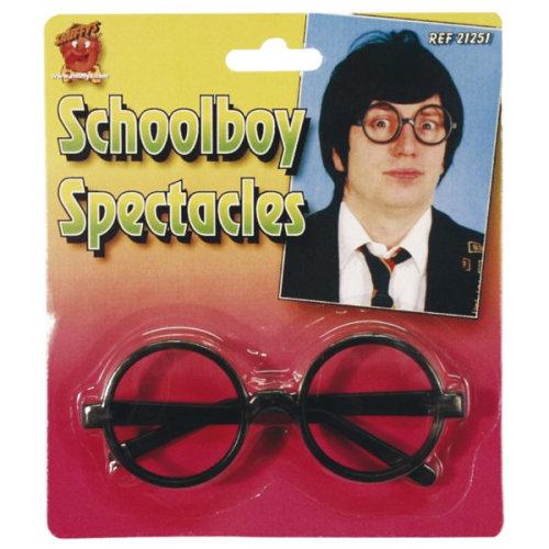 b70f15126a0 Smiffys Male School Boy Specs - Glasses Fancy Dress School Black Accessory  New - glasses fancy dress schoolboy specs black accessory new smiffys nerd  on ...