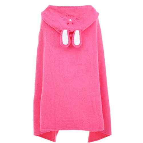 Cute Baby Towel/ Bath Towel/Baby-Washcloths/BABY bathrobe,Rose Red Rabbit