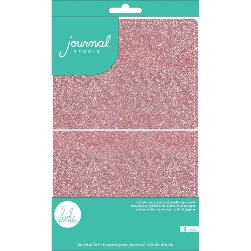 American Crafts Journal Studio Kit-Pink By Heidi Swapp