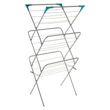 Folding Clothes Dryer 3 Tier  Iron Silver Powder Paint