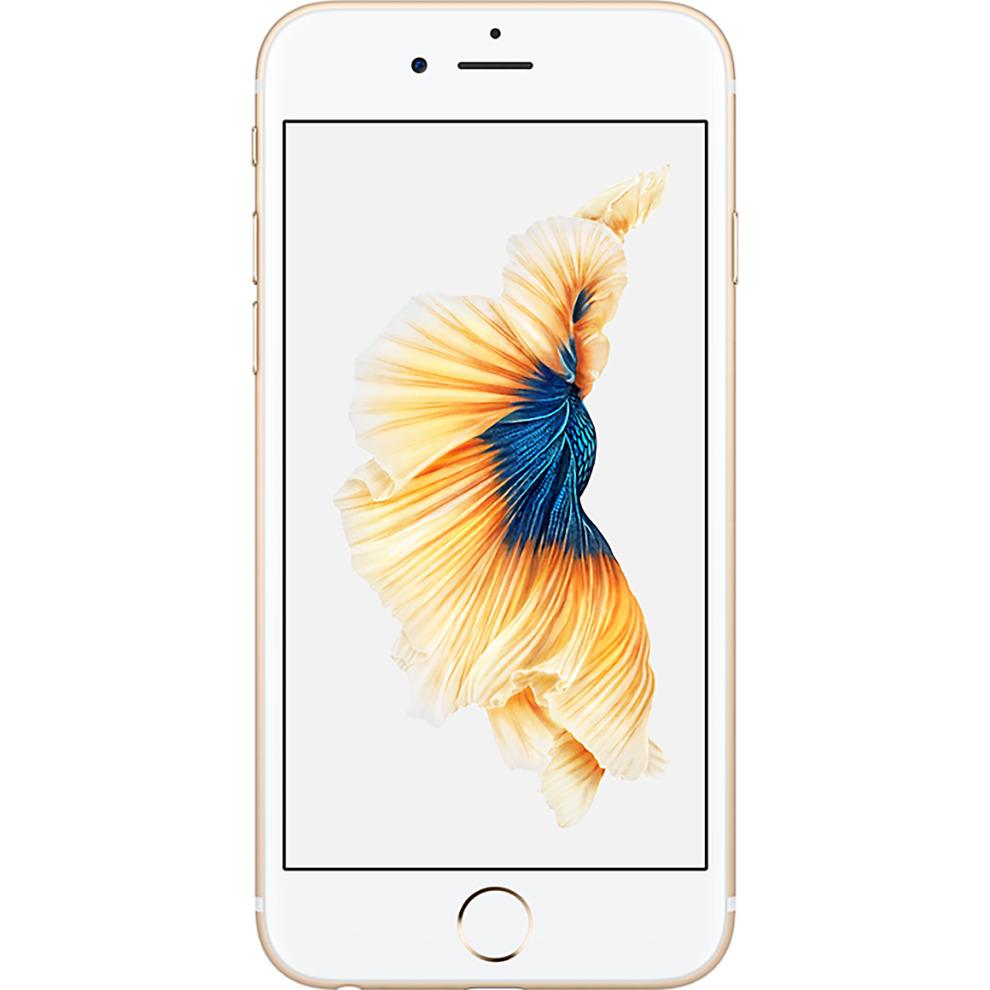 Tesco Mobile, 32GB Apple iPhone 6s - Gold