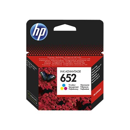 HP 652 Tri-color Original Ink Advantage Cartridge 200pages Cyan, Magenta, Yellow ink cartridge