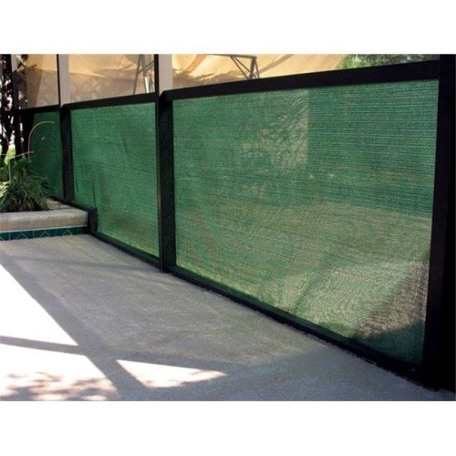 Coolaroo 799870435974 90 percent 12 ft. x 50 ft. Heritage Green