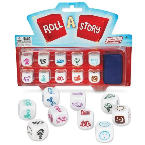 Junior Learning Roll a Story Develop Story Telling and Oral Language Game