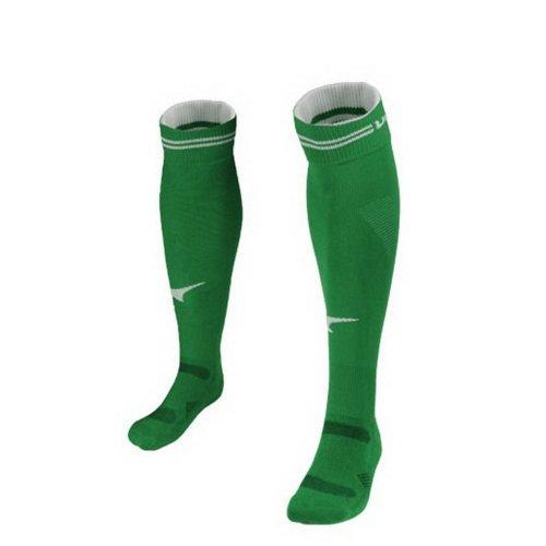 Green Knee Length Football Socks for Adult Quick Dry