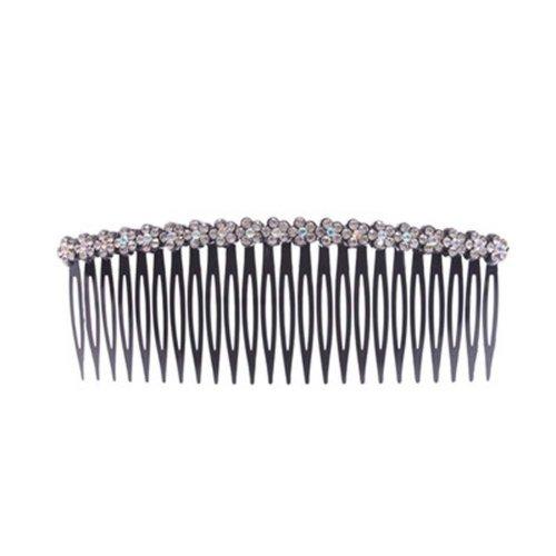 Top Jewelry Card Edge Rhinestone Hair Accessories Hairpin Comb  Bangs Chuck