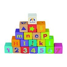 Boikido Wooden ABC Cubes (28-Piece)