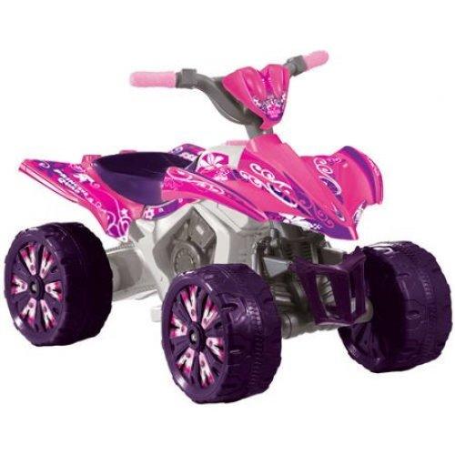Kid Motorz 6V Xtreme Quad Battery-Powered Ride-On, Pink