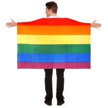5ft x 3ft LGBT Lesbian Gay Pride Cape