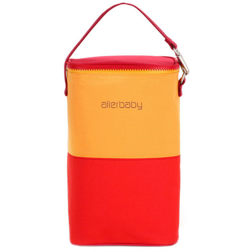 Travel Package Infant Bottle Tote Bag Baby Keep Milk Fresh Bag RED&YELLOW