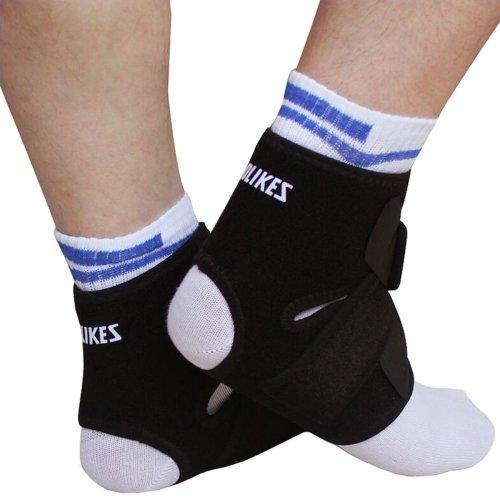 AOLIKES Ankle Brace Foot Support Stabilizer Strap for Plantar Fasciitis  Achilles Tendonitis Sprains Running Football Pair Women Men on OnBuy f5b2351db6