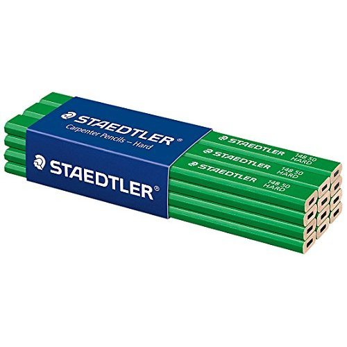 Staedtler 148 Hard Carpenters Pencil - Pack of 12