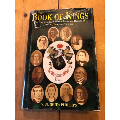 """1990 *SIGNED COPY* 1ST ED """"THE BOOK OF KINGS"""" KING FAMILY USA HARDBACK BOOK"""