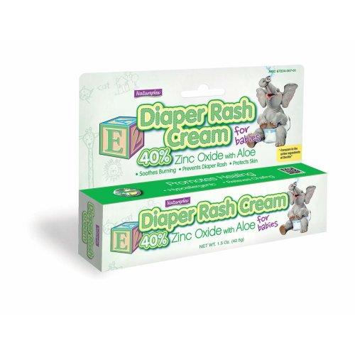Natureplex Diaper Rash Cream 42.5g, Nappy Cream for Babies
