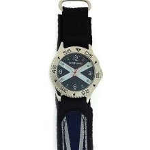 Boxx Analogue Scotland Scottish Flag Velcro Strap Mens Casual Watch