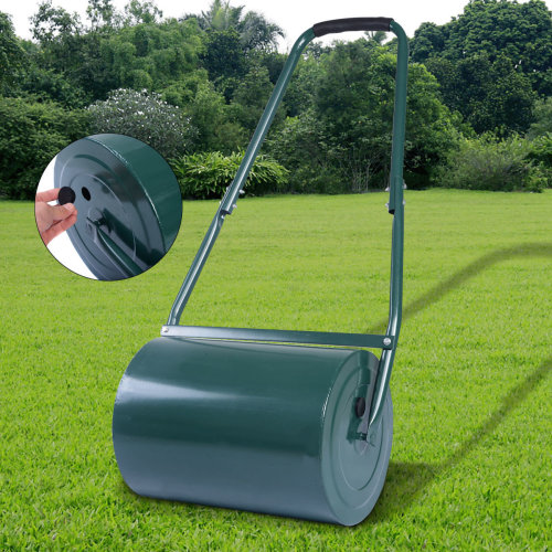 HEAVY DUTY METAL 30L LAWN ROLLER