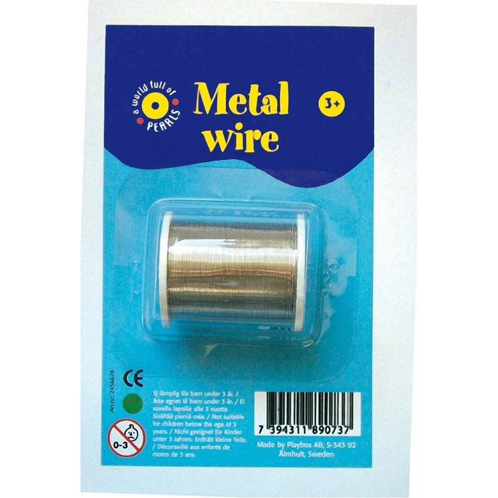 Pbx2461999 - Playbox - Metal Wire (silver) on OnBuy