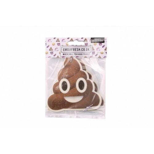 Emojifresh Poop Emoji Air Freshener (Pack Of 2)
