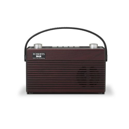 Roberts Classic Blutune DAB/DAB+/FM RDS Bluetooth Digital Portable Radio - Brown