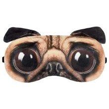 Sleep Goggles Sleeping Mask Eye Cover Weird Dog Expression