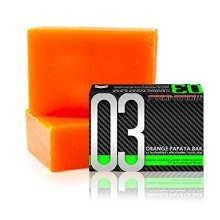 1 BAR LUXXE SOAP 03 Luxxe Celebrity Soap +Orange Papaya+ Glutathione+ Kojic Acid