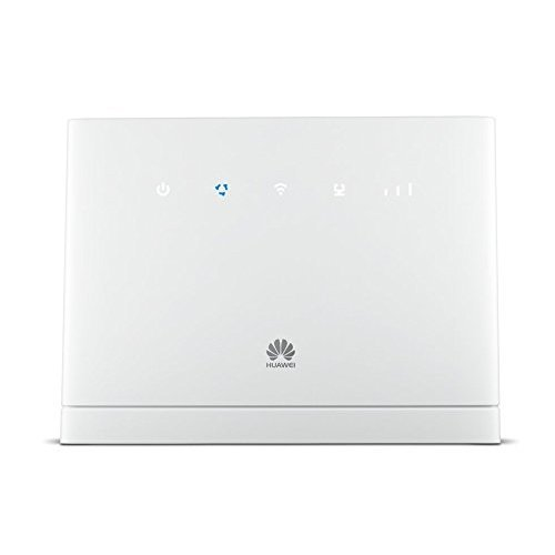 Huawei B315, 4G Wi-Fi Router White, High-speed Wireless Home Router, No  Configuration Required, Unlocked to all Networks