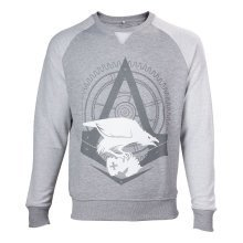 Assassins Creed Syndicate Adult Male The Rooks Crew Neck Sweater L - Grey