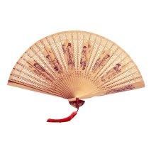 Hand Held Fan Folding Hand Fans Fan Hand Wooden Folding Fan Chinese Style