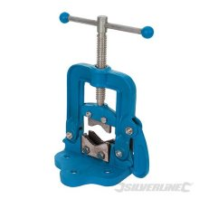 Silverline 12 - 60mm Hinged Vice Pipe - 609150 -  pipe hinged vice silverline 609150 12 60mm