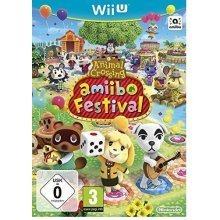 Animal Crossing Amiibo Festival + 2 Amiibos and 3 Amiibo Cards Nintendo Wii U Game
