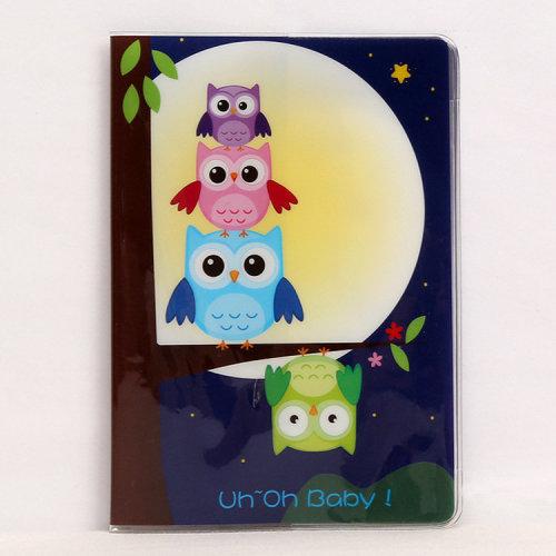 Cute Owls Passport Cover